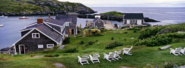 Monhegan Island view